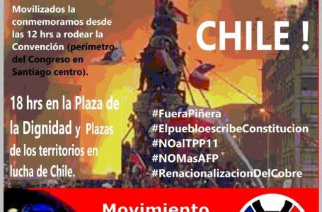 Chile se moviliza:18 de octubre a dos años de la Revuelta Popular